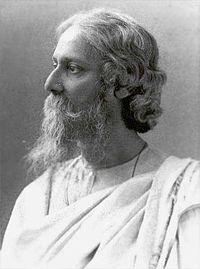 Tagore, el poeta d'orígen hindú,